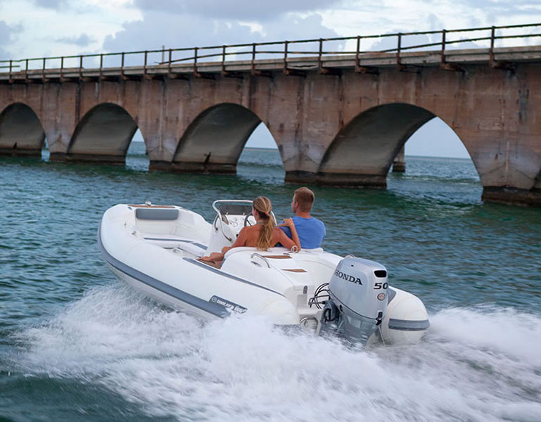 2018 Honda Marine BF50 L Type in Oceanside, New York