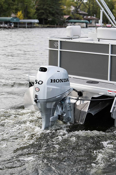2018 Honda Marine BF50 L Type in Lakeport, California