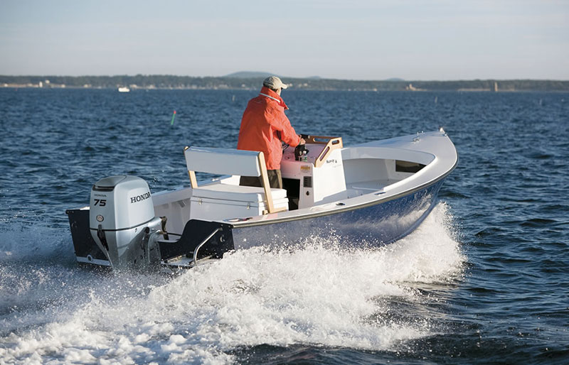 2018 Honda Marine BF75 L Type in Oceanside, New York