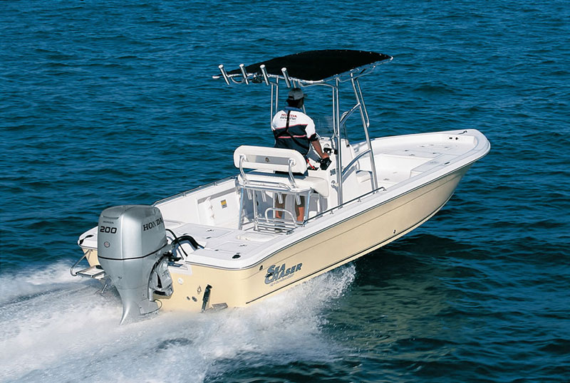 2018 Honda Marine BF200 L Type in Speculator, New York