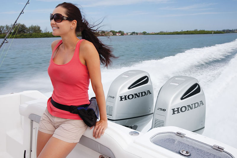 2018 Honda Marine BF250 L Type in Oceanside, New York