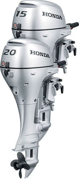 2019 Honda Marine BF15 L Type in Escanaba, Michigan