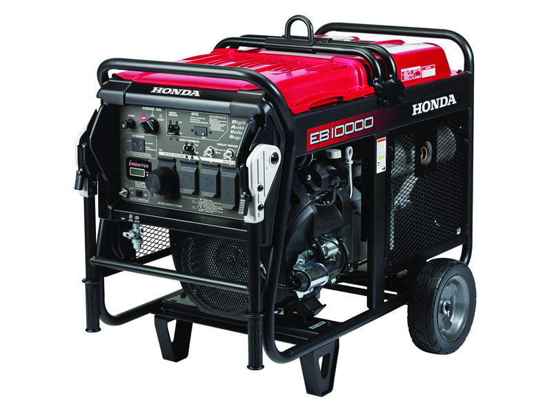 Honda Power Equipment EB10000 with CO-MINDER in Queens Village, New York