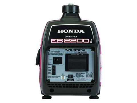 Honda Power Equipment EB2200i with CO-MINDER in Grass Valley, California - Photo 4