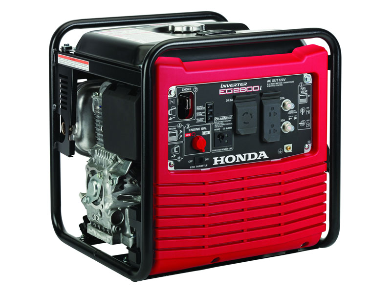Honda Power Equipment EG2800i with CO-MINDER in Grass Valley, California - Photo 1