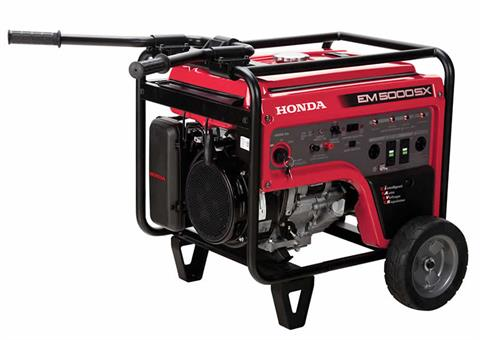 Honda Power Equipment EM5000S in Ukiah, California - Photo 3