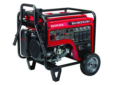 Honda Power Equipment EM5000SX with CO-MINDER in Lafayette, Louisiana