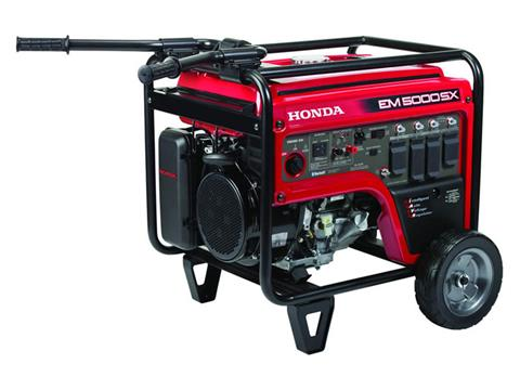 Honda Power Equipment EM5000SX with CO-MINDER in Saint Joseph, Missouri - Photo 3