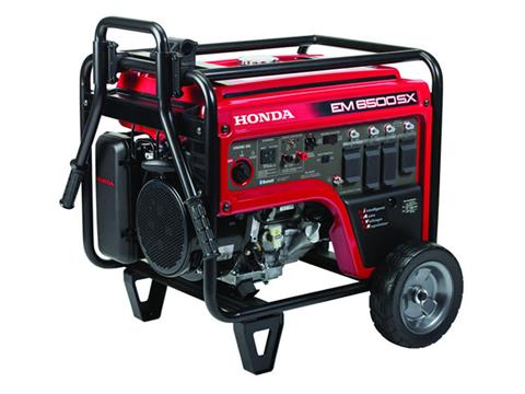 Honda Power Equipment EM6500SX with CO-MINDER in Madera, California