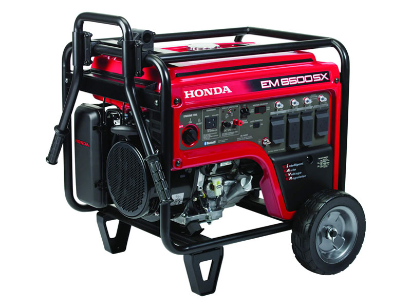 Honda Power Equipment EM6500SX with CO-MINDER in Elkhart, Indiana - Photo 1