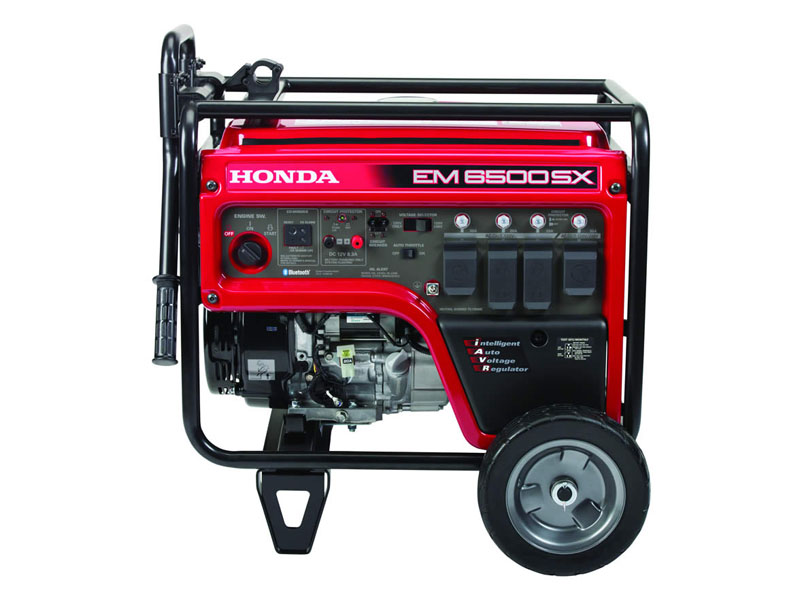 Honda Power Equipment EM6500SX with CO-MINDER in Elkhart, Indiana - Photo 3