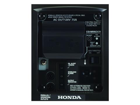 Honda Power Equipment EU1000i with CO-MINDER in Springfield, Missouri - Photo 5