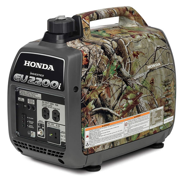 Honda Power Equipment EU2200i Camo in Grass Valley, California - Photo 2