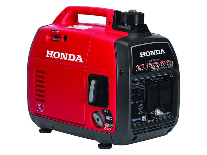 Honda Power Equipment EU2200i Companion with CO-MINDER in Grass Valley, California - Photo 1