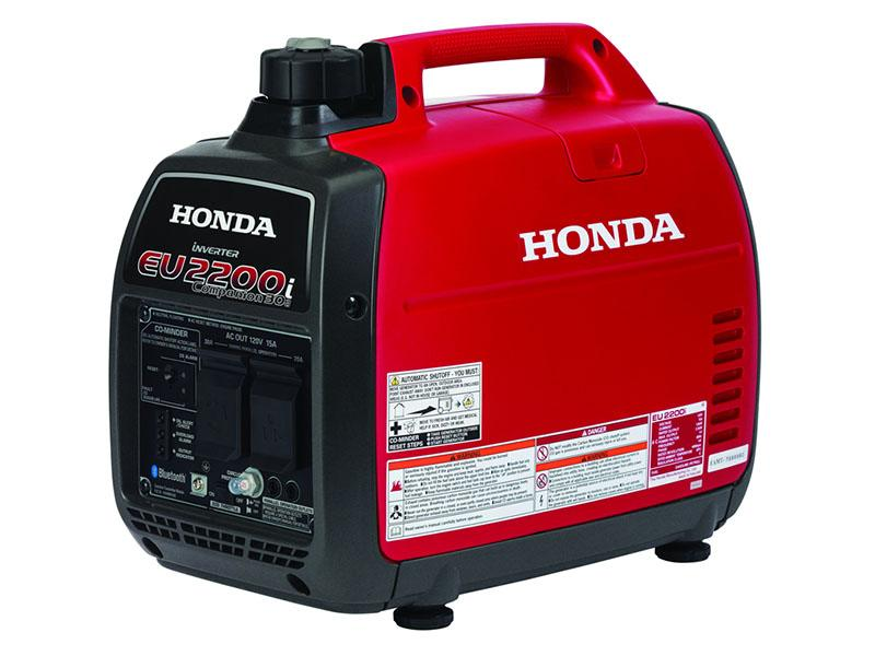 Honda Power Equipment EU2200i Companion with CO-MINDER in Eureka, California - Photo 2