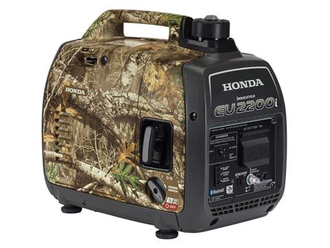 Honda Power Equipment EU2200i Camo with CO-MINDER in Greenville, North Carolina