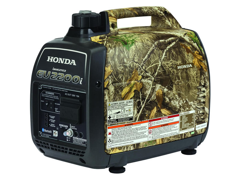 Honda Power Equipment EU2200i Camo with CO-MINDER in Sarasota, Florida - Photo 2