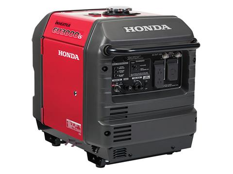 Honda Power Equipment EU3000iS with CO-MINDER in Ukiah, California