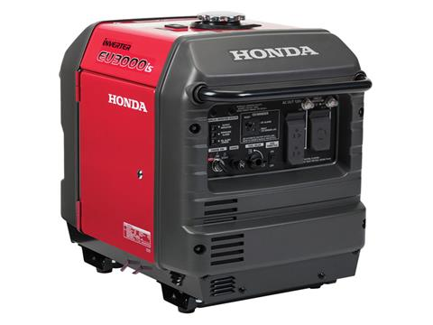 Honda Power Equipment EU3000iS with CO-MINDER in Greenville, North Carolina