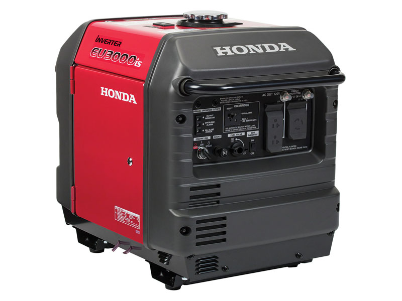Honda Power Equipment EU3000iS with CO-MINDER in Ukiah, California - Photo 1