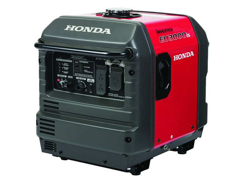Honda Power Equipment EU3000iS with CO-MINDER in Ukiah, California - Photo 2