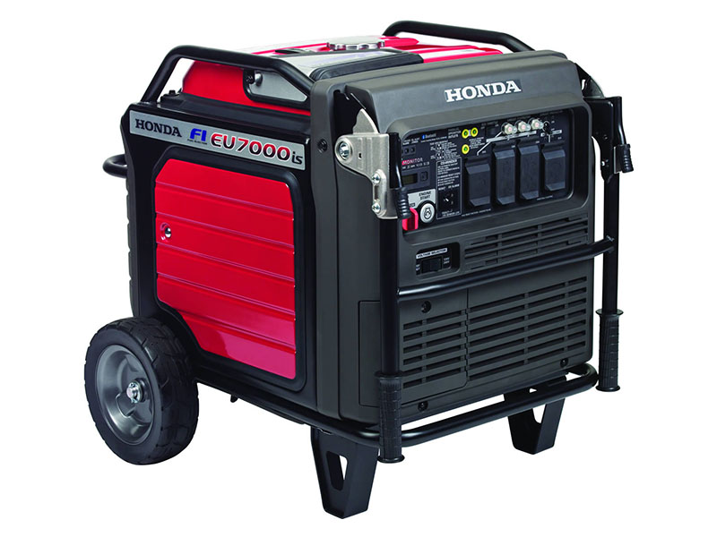 Honda Power Equipment EU7000iS with CO-MINDER in Redding, California - Photo 1
