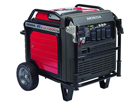 Honda Power Equipment EU7000iS with CO-MINDER in Grass Valley, California