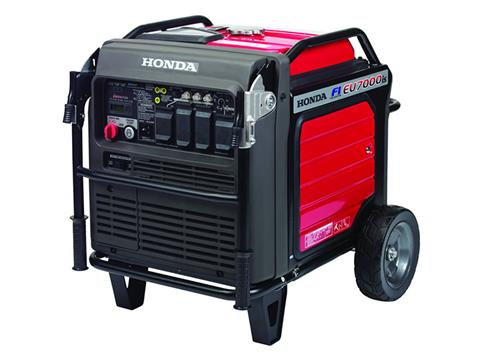 Honda Power Equipment EU7000iS with CO-MINDER in Redding, California - Photo 2