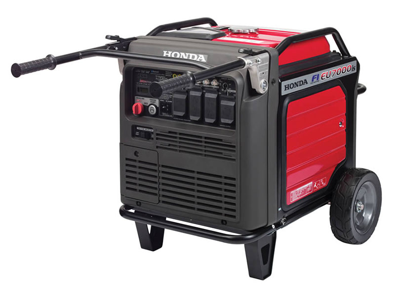 Honda Power Equipment EU7000iS with CO-MINDER in Redding, California - Photo 3