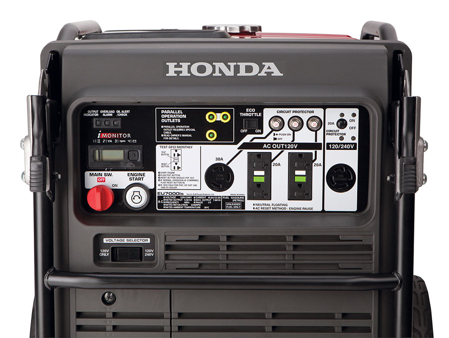 2016 Honda Power Equipment EU7000iS in Elizabeth City, North Carolina