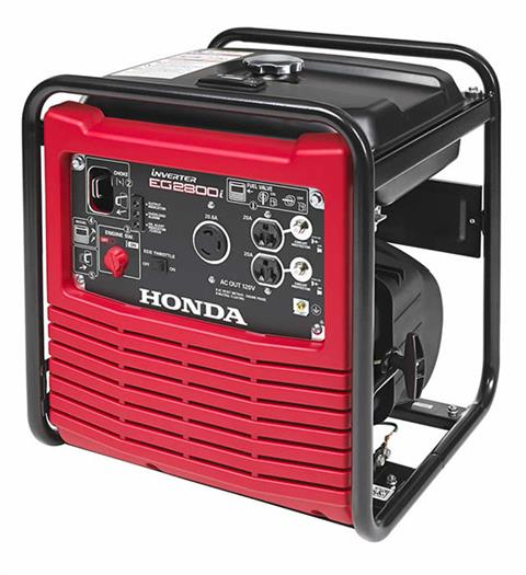 2017 Honda Power Equipment EG2800i in Garberville, California