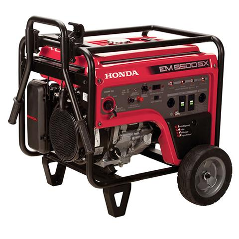 2017 Honda Power Equipment EM6500S in Aurora, Illinois