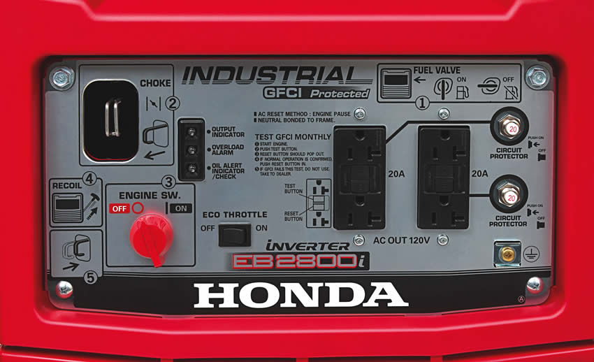 2017 Honda Power Equipment EB2800i in Elizabeth City, North Carolina