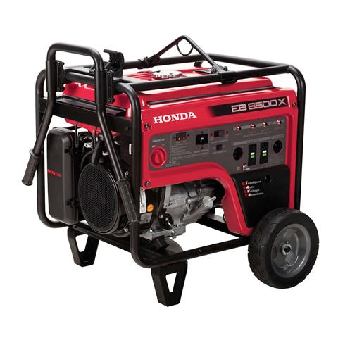 2017 Honda Power Equipment EB6500 in West Bridgewater, Massachusetts
