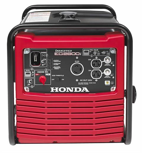 2017 Honda Power Equipment EG2800i in Flagstaff, Arizona