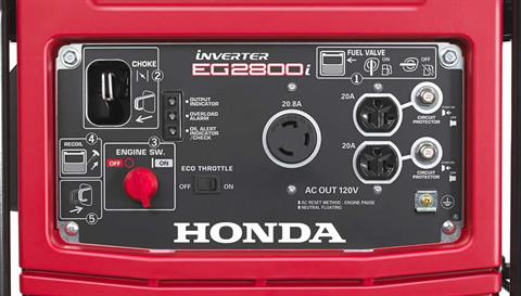 2017 Honda Power Equipment EG2800i in Bakersfield, California