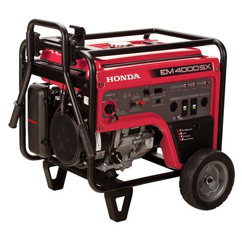 2017 Honda Power Equipment EM4000S in Visalia, California