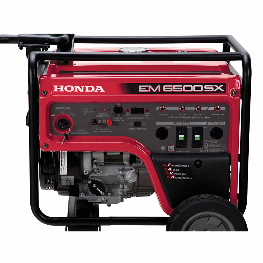 2017 Honda Power Equipment EM6500S in Sparks, Nevada