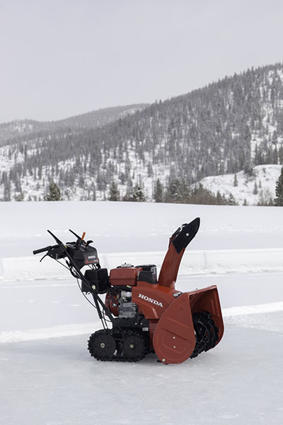 en hss honda et big snow blower