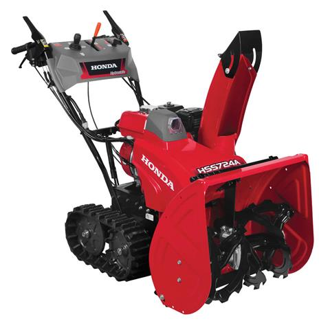 2017 Honda Power Equipment HSS724AT in Northampton, Massachusetts