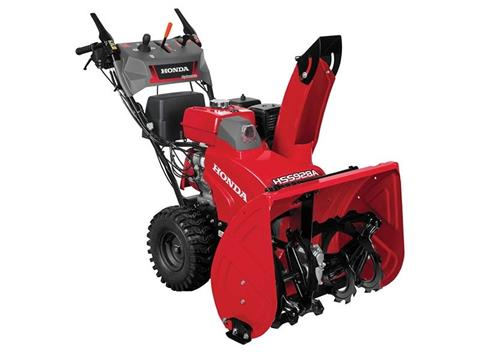 2017 Honda Power Equipment HSS928AWD in Phillipston, Massachusetts