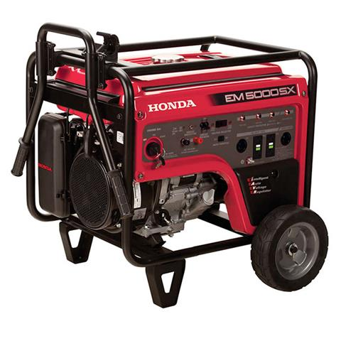 2018 Honda Power Equipment EM5000S in Aurora, Illinois
