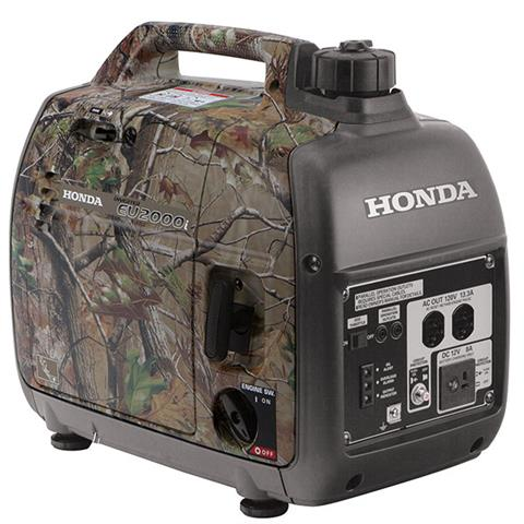 2018 Honda Power Equipment EU2000i Camo in Stillwater, Oklahoma