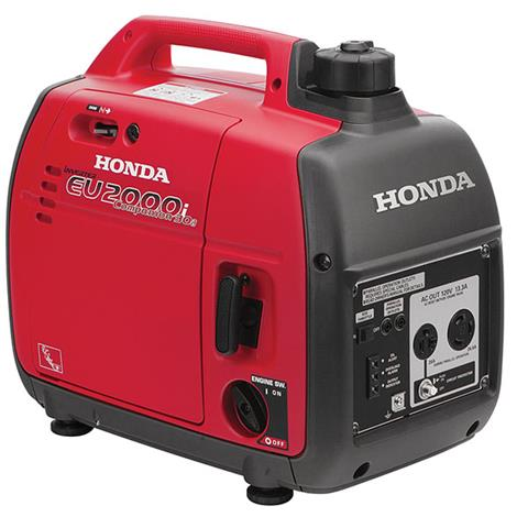 2018 Honda Power Equipment EU2000i Companion in Bigfork, Minnesota