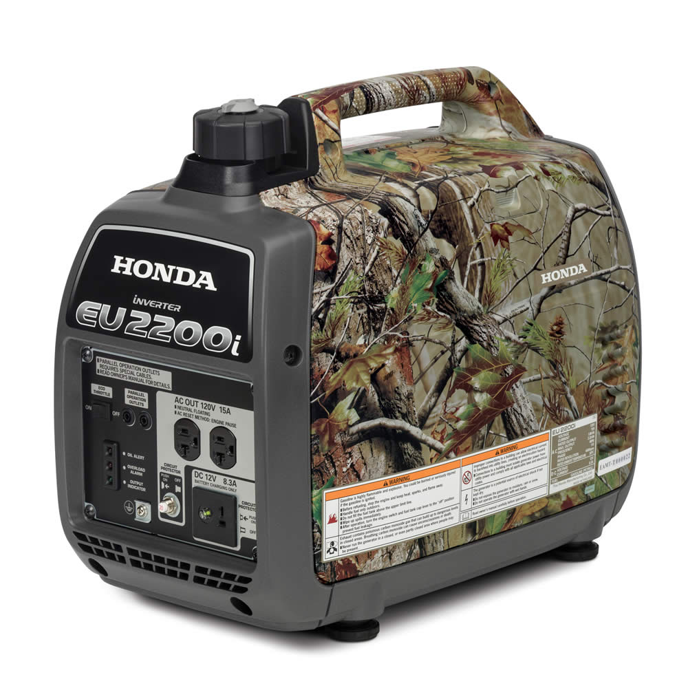 2018 Honda Power Equipment EU2200i Camo in Lapeer, Michigan