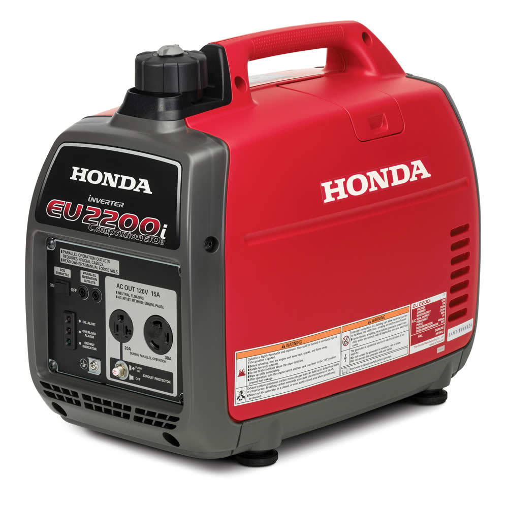 2018 Honda Power Equipment EU2200i Companion in Rice Lake, Wisconsin
