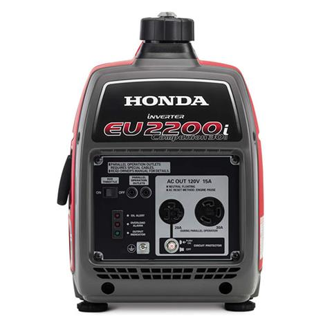 2018 Honda Power Equipment EU2200i Companion in Centralia, Washington