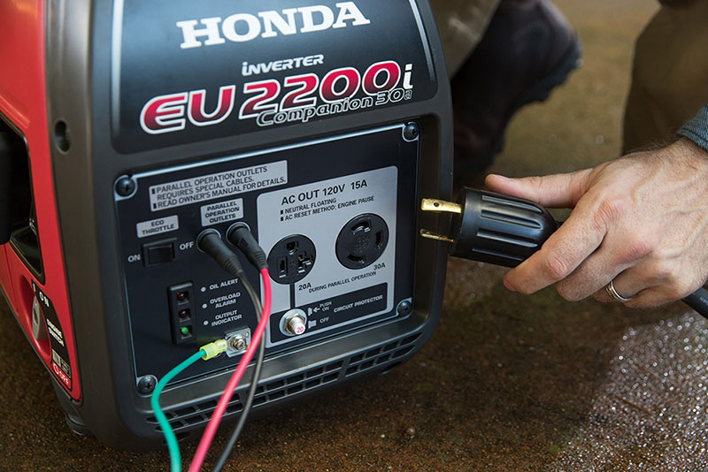 2018 Honda Power Equipment EU2200i Companion in Panama City, Florida