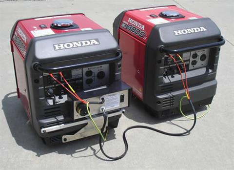 2018 Honda Power Equipment EU3000iS in Ukiah, California