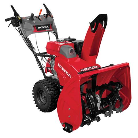 2018 Honda Power Equipment HSS928AW in Northampton, Massachusetts